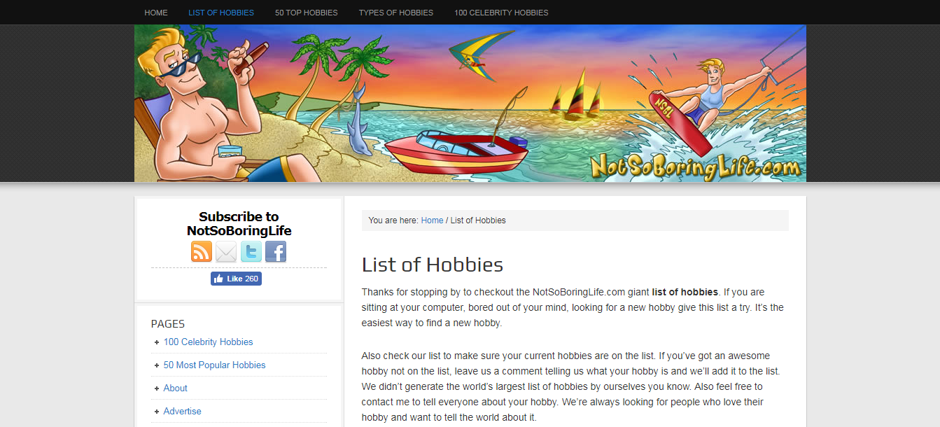 World s Largest List of Hobbies .png